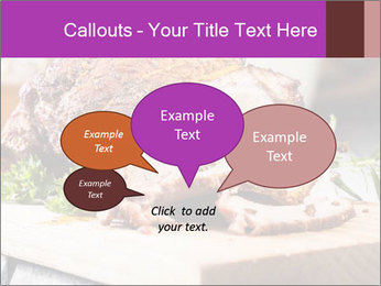 Meat Delicacy PowerPoint Template - Slide 73