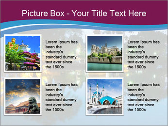Myanmar At Night PowerPoint Template - Slide 14