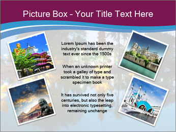 Myanmar At Night PowerPoint Template - Slide 24