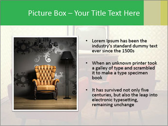 Retro TV And Two Red Armchairs PowerPoint Templates - Slide 13