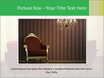 Retro TV And Two Red Armchairs PowerPoint Templates - Slide 16