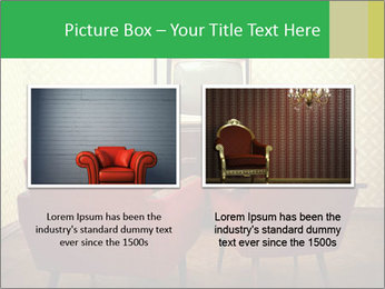 Retro TV And Two Red Armchairs PowerPoint Templates - Slide 18