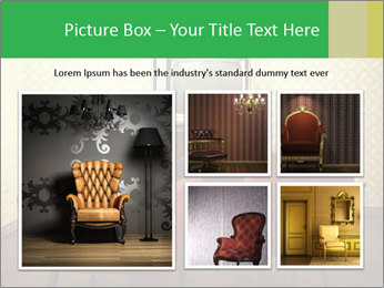 Retro TV And Two Red Armchairs PowerPoint Templates - Slide 19