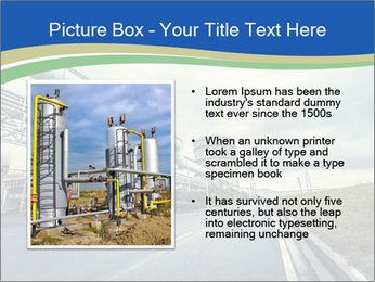 Industrial Pipe Lines PowerPoint Templates - Slide 13