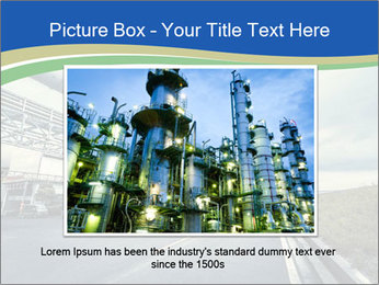 Industrial Pipe Lines PowerPoint Templates - Slide 15