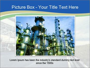 Industrial Pipe Lines PowerPoint Template - Slide 15