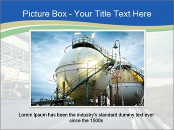 Industrial Pipe Lines PowerPoint Template - Slide 16