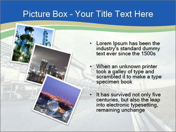 Industrial Pipe Lines PowerPoint Templates - Slide 17