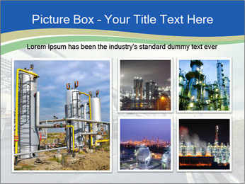 Industrial Pipe Lines PowerPoint Templates - Slide 19