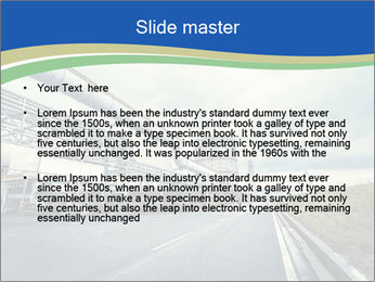 Industrial Pipe Lines PowerPoint Templates - Slide 2