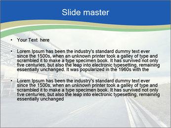Industrial Pipe Lines PowerPoint Template - Slide 2