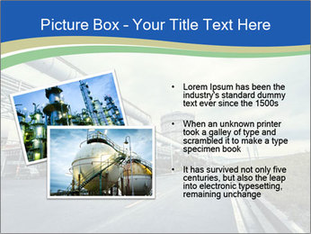 Industrial Pipe Lines PowerPoint Templates - Slide 20