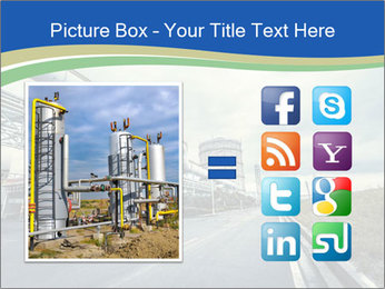 Industrial Pipe Lines PowerPoint Templates - Slide 21