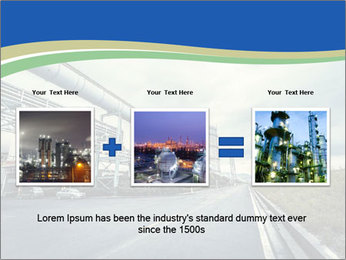 Industrial Pipe Lines PowerPoint Templates - Slide 22