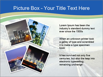 Industrial Pipe Lines PowerPoint Templates - Slide 23