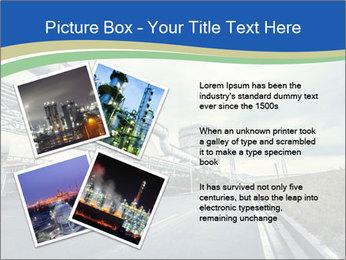 Industrial Pipe Lines PowerPoint Template - Slide 23