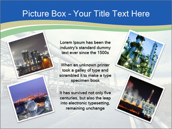 Industrial Pipe Lines PowerPoint Templates - Slide 24