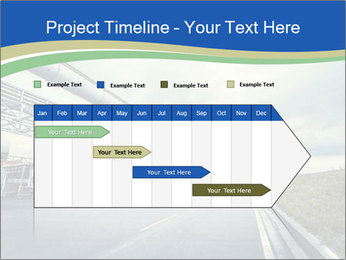 Industrial Pipe Lines PowerPoint Templates - Slide 25