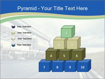 Industrial Pipe Lines PowerPoint Template - Slide 31