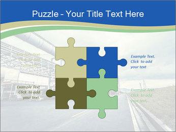 Industrial Pipe Lines PowerPoint Template - Slide 43