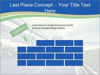 Industrial Pipe Lines PowerPoint Template - Slide 46
