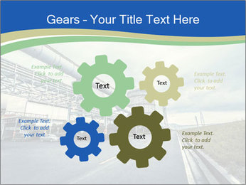 Industrial Pipe Lines PowerPoint Templates - Slide 47
