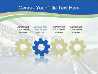 Industrial Pipe Lines PowerPoint Template - Slide 48