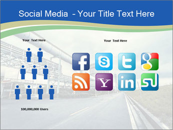 Industrial Pipe Lines PowerPoint Template - Slide 5