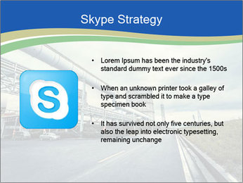 Industrial Pipe Lines PowerPoint Templates - Slide 8