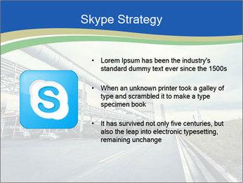 Industrial Pipe Lines PowerPoint Template - Slide 8