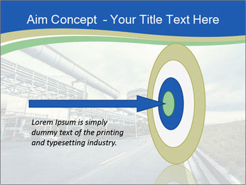 Industrial Pipe Lines PowerPoint Templates - Slide 83