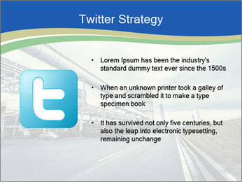 Industrial Pipe Lines PowerPoint Templates - Slide 9
