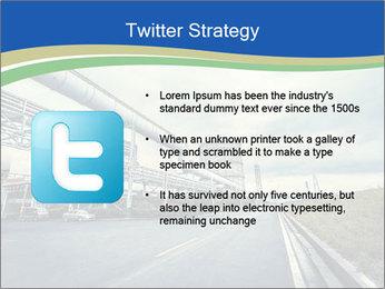 Industrial Pipe Lines PowerPoint Template - Slide 9