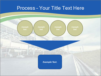 Industrial Pipe Lines PowerPoint Templates - Slide 93