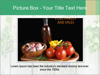 Hanging Herbs PowerPoint Template - Slide 15