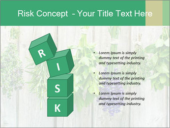 Hanging Herbs PowerPoint Template - Slide 81
