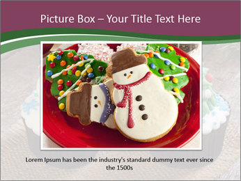 Christmas Cupcake PowerPoint Template - Slide 15