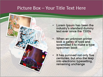 Christmas Cupcake PowerPoint Template - Slide 17