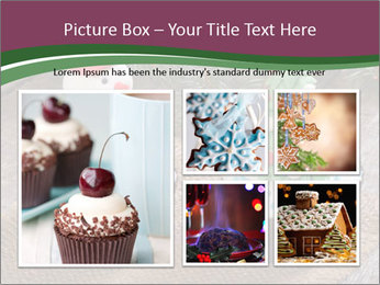 Christmas Cupcake PowerPoint Template - Slide 19