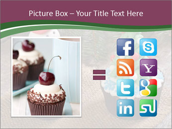 Christmas Cupcake PowerPoint Template - Slide 21