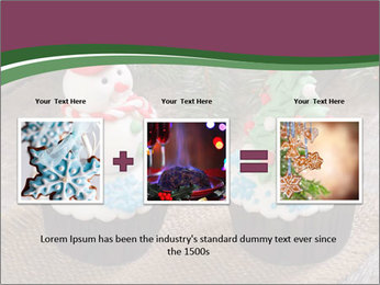 Christmas Cupcake PowerPoint Template - Slide 22