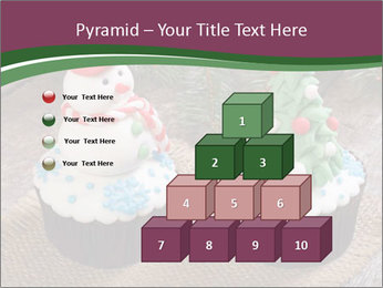 Christmas Cupcake PowerPoint Template - Slide 31