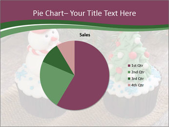 Christmas Cupcake PowerPoint Template - Slide 36