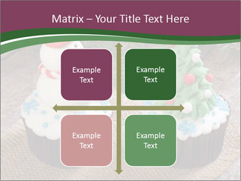 Christmas Cupcake PowerPoint Template - Slide 37