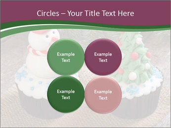Christmas Cupcake PowerPoint Template - Slide 38