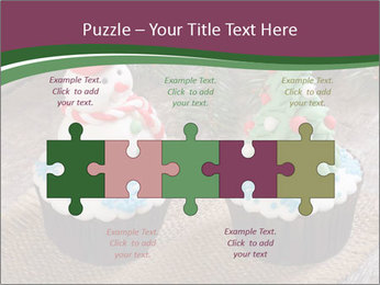 Christmas Cupcake PowerPoint Template - Slide 41