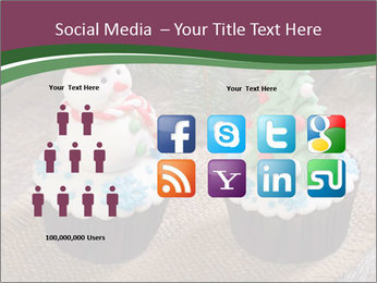 Christmas Cupcake PowerPoint Template - Slide 5