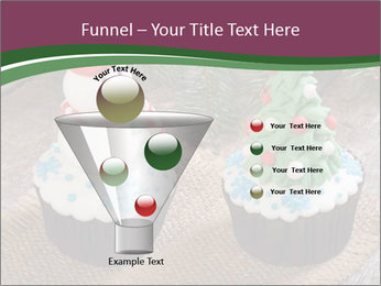 Christmas Cupcake PowerPoint Template - Slide 63