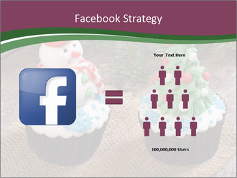 Christmas Cupcake PowerPoint Template - Slide 7