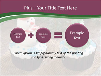 Christmas Cupcake PowerPoint Template - Slide 75